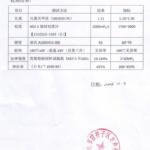CAP physical properties report